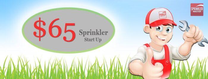 spring sprinkler start-up
